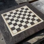 Мраморная шахматная доска