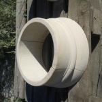 База для колонны из мрамора или песчаника