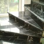 Восстановление и реставрация лестницы из мрамора