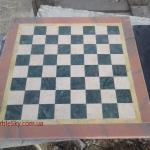 Шахматная доска из мрамора