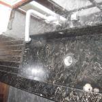 Кухонная раковина из мрамора