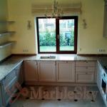 Мраморная кухонная столешница