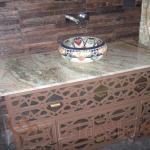 Столешница из оникса - природного натурального камня